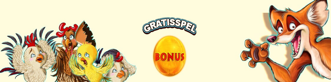 Vinn free spins med bonus i Chicken Fox